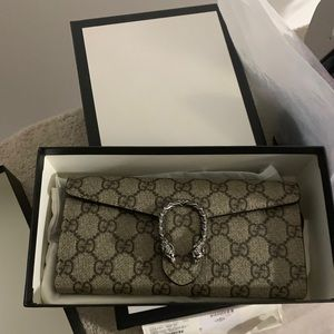 Gucci Bags - NWT Gucci GG Dionysus Chain Wallet